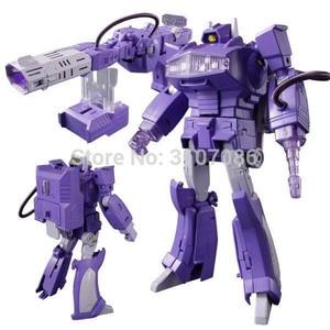 Image 1 - G1 Shockwave Meesterwerk Met Licht Transformatie MP 29 Ko Collection Action Figure Robot Speelgoed