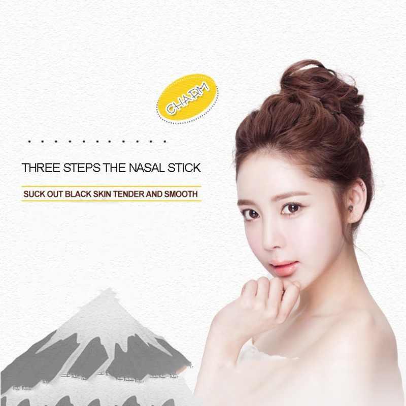 Vrouwen Professionele Cosmetische Vrouwen Tool Neus Masker Verwijderen Mee-eter Acne Skin Clear Black Head 3 Stap Kit Gezichtsverzorging Schoon gereedschap *