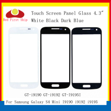 10Pcs/lot Touch Screen For Samsung Galaxy S4 Mini I9190 i9192 i9195 Touch Panel Front Outer S4 Mini LCD Glass Lens Replacement for samsung s4 mini i9190 i9195 samsung s4 i9190 i9195 new10pcs