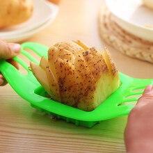 Практичная картофель фри резка для картофеля нарезка полосками многофункциональная нарезка картофеля машина Кухонные гаджеты инструмент цвет случайный