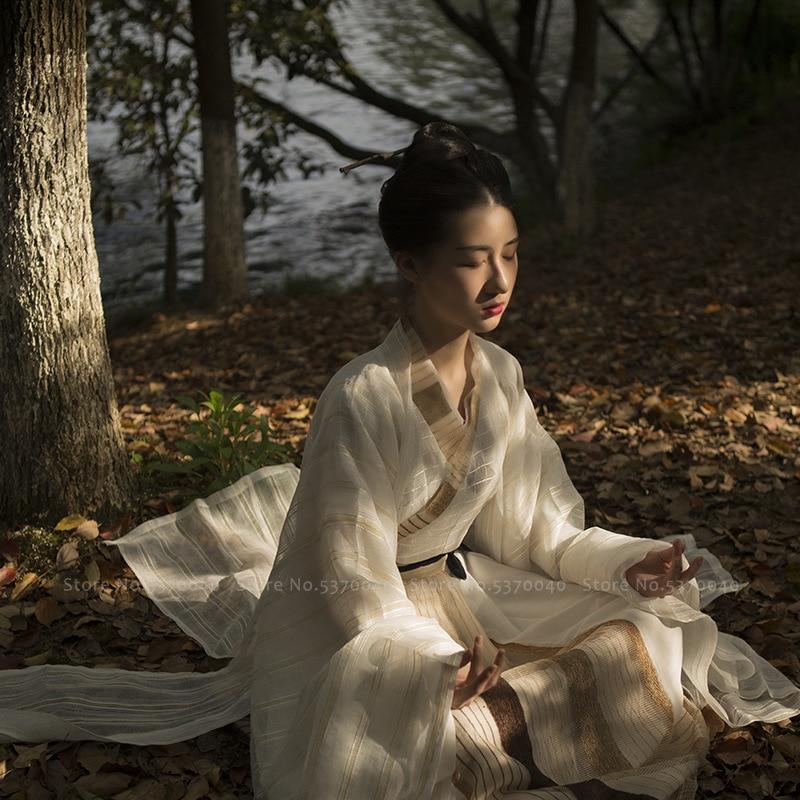 Men Women Traditional Chinese Clothing Scholar Hanfu Tops Skirt Party Dress Girls Oriental Tang Dynasty Suit Kimono Yukata Robes