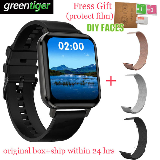 Đồng Hồ Thông Minh Smartwatch IP68 Chống Nước Điện Tâm Đồ Đồng Hồ Thông Minh Huyết Áp Đo Nhịp Tim Theo Dõi Sức Khỏe DT X DTX 1.78 Màn Hình HD Cho android