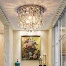 현대 크리스탈 샹들리에 조명 플러시 마운트 식당 침실 홀 레스토랑 호텔 장식 샹들리에 조명 크리스탈