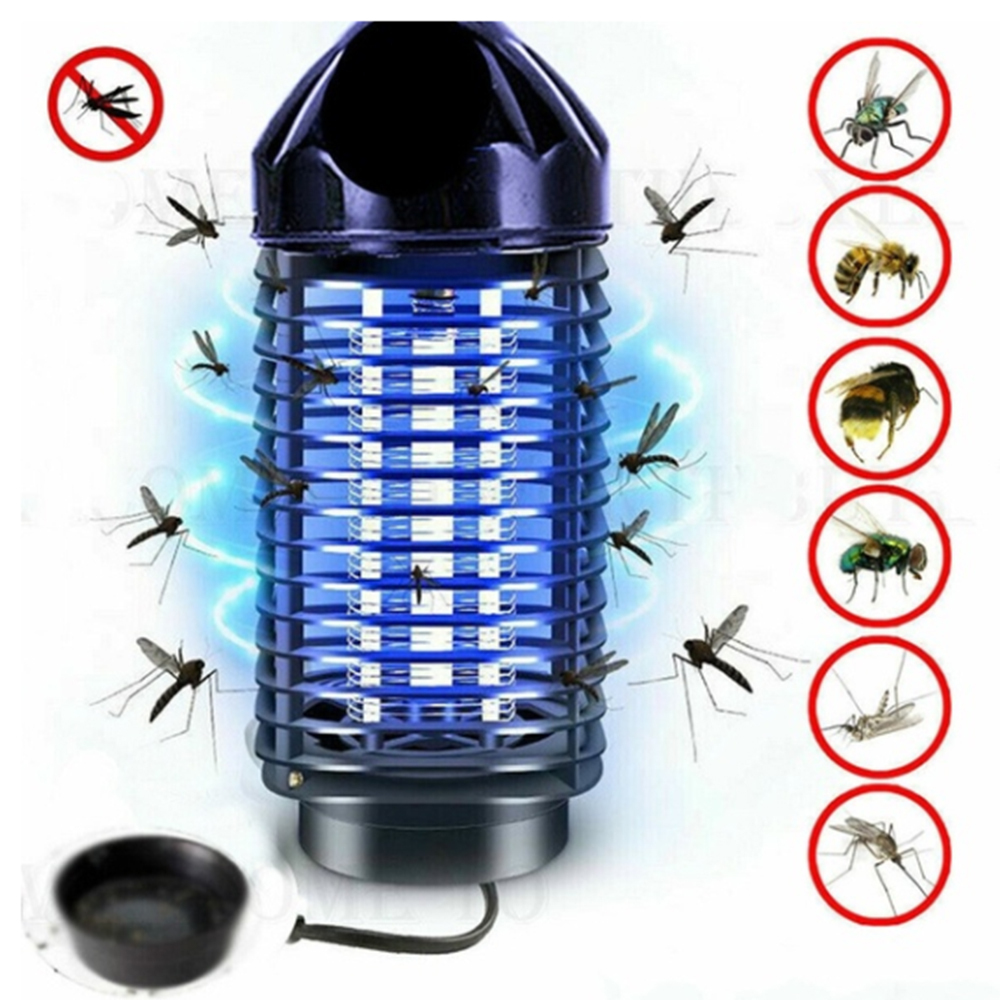 Electric Fly Trap Pest Device Insect Catcher Automatic Flycatcher Trap Killing Pest Anti Mosquito Trap EU/US Plug New 1pc