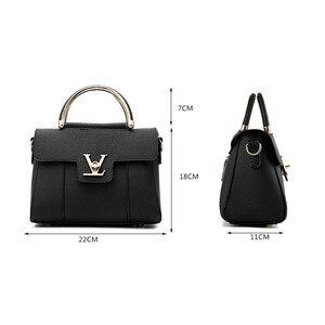 Image 4 - Women Handbags PU Leather Shoulder Messenger Bags lady Hand Bags High Quality Fashion Female Bag Crossbody Bags for Women 2020