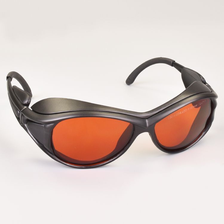 laser safety glasses for multi wavelengths lasers 190 550nm and 800 1100nm O.D 6+ CE 532nm and 1064nm lasers-in Safety Goggles from Security & Protection