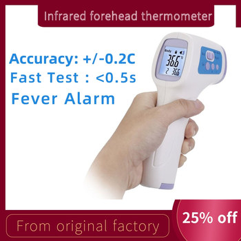 Forehead Non Contact Thermometer Infrared Thermometer Body Temperature High Precision Fever Digital Measure Tool for Baby Adult