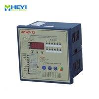 JKWF 12 split phase power factor correction controller 12 step LCD Reactive power automatic compensation controller