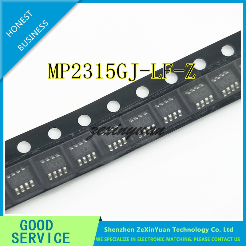 10PCS/LOT MP2315GJ-LF-Z MP2315 IAGCF IAGCE IAGCD MPS SOT23-8