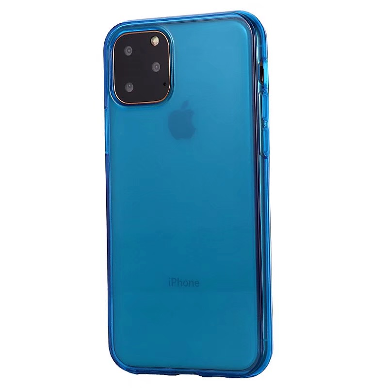 Comanke Transparent Candy Color Silicone Cases for iPhone 11/11 Pro/11 Pro Max 7