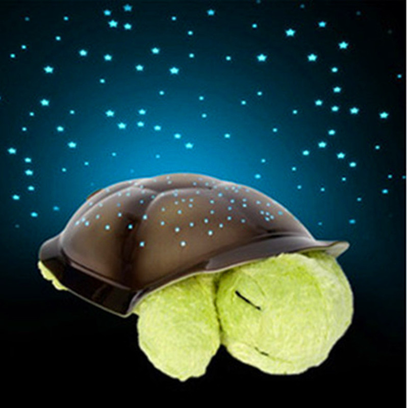 Explosion Music Turtle Projection Lamp Starry Sky  Projector Night Light For Bedroom Bedside Lamp Children's Toy Lamp Gift Light