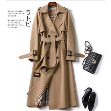 2020 outono elegante longo feminino trench rendas até cintura casual sólido v neck overcoat plus size manga comprida blusão feminino trincheira