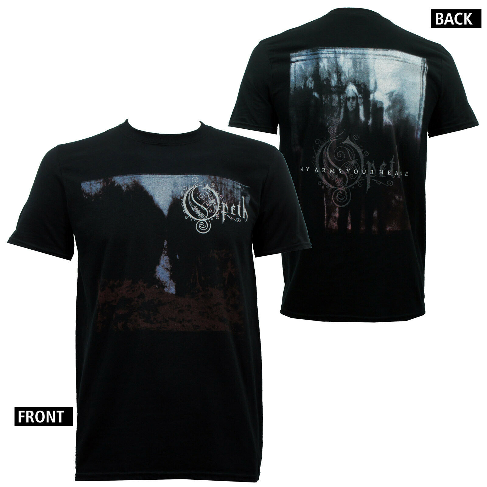 Authentic Opeth Band My Arms Your Hearse Album Cover Slim Fit T Shirt S 2Xl New image