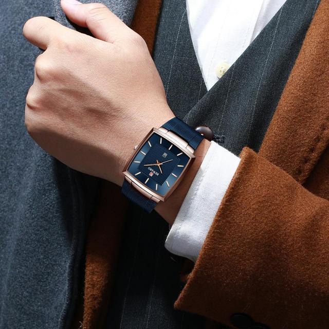 REWARD Fashion Watch Men Waterproof Slim Mesh Military Wrist Watches Men Quartz Sports Business Male Watch Relogio Masculino 3
