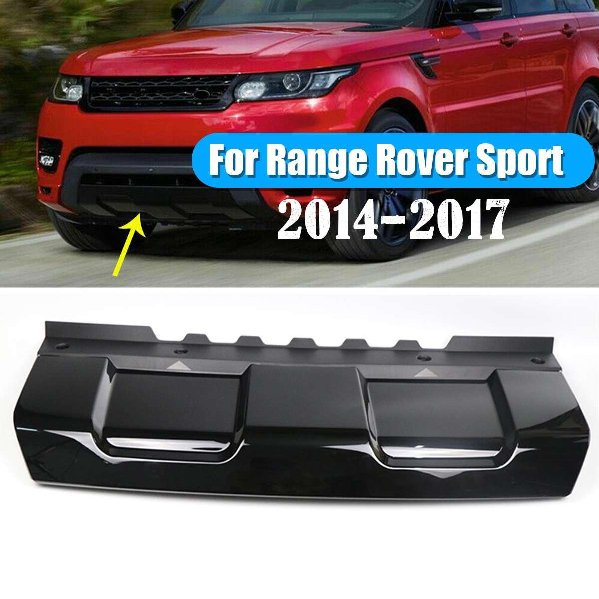 Moulures avant ABS plaque de protection pare-chocs garniture pour Range Rover Sport 2014-2017