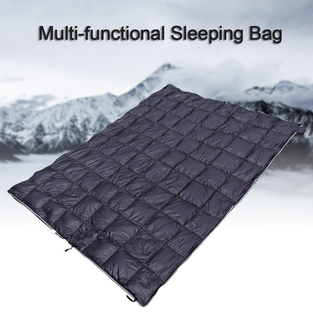 Winter Warm Sleeping Bag Outdoor Water Repellent Down Sleeping Sack Backpacking Camping Hiking Envelope Sleeping Bag Various Styles