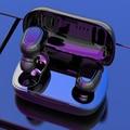 Drahtlose Bluetooth 5,0 Kopfhörer L21 Stereo Sport Ohrhörer Noise Cancelling TWS In-ohr Kopfhörer mit Lade Fall Für iphone