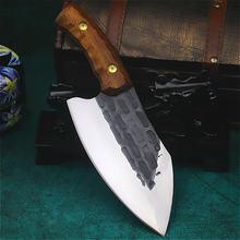Ручной нож longquan для шлифовки глаз острый костей бытовой