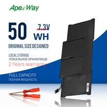 """ApexWay batterie dordinateur portable Pour MacBook Air 13 """"Modèle A1369 Milieu 2011, A1466 A1405 Batterie 020 7379 A MC965 MC966 MD231 MD232 20"""