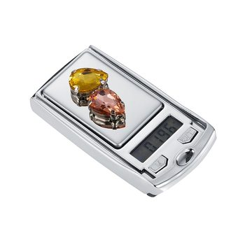 100g*0.01g Gold Jewelry Scale LCD Electronic Digital Portable Pocket Scale Gram Balance Weight Scales As Car Key image