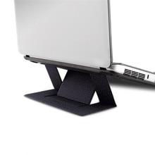 Регулируемая подставка для ноутбука клейкая невидимая подставка складной кронштейн Портативный держатель для планшета для iPad MacBook Ноутбуки горячая распродажа