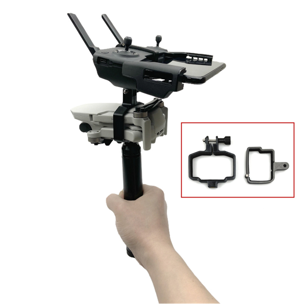 Handheld Gimbal Camera Stabilizer Monitor Controller Tripod Holder Clip Bracket For DJI Mavic Mini Accessories