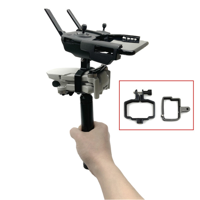 Handheld Gimbal Camera Stabilizer Monitor Controller Tripod Holder Clip Bracket For DJI Mavic Mini Accessories