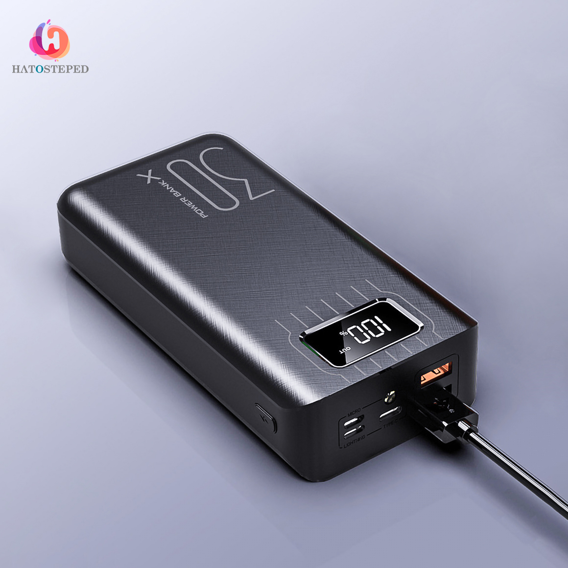 30000mAh Power Bank Portable Charging Poverbank Mobile Phone External Battery Charger Powerbank 30000 mAh for Xiaomi Mi 1