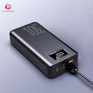 30000mAh Power Bank Portable Charging Poverbank Mobile Phone External Battery Charger Powerbank 30000 mAh for Xiaomi Mi(China)