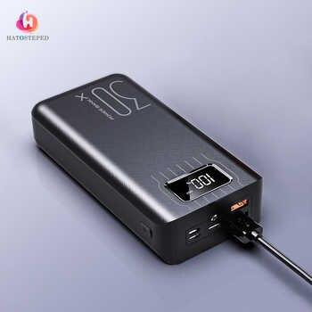 30000mAh Power Bank Cargador portátil Poverbank Teléfono móvil Cargador de batería externo Powerbank 30000 mAh para Xiaomi Mi