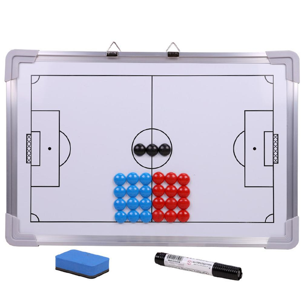 Competition Training Board Aluminum Football Tactics Coach Board Wall-mounted Boards For Sports Exercise Work Out Tool