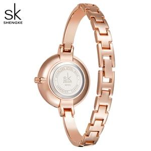 Image 5 - Shengke Women Watches Women Fashion Watch Geneva Designer Ladies Watch Luxury Brand Diamond Quartz Wrist Watch Gifts For Women