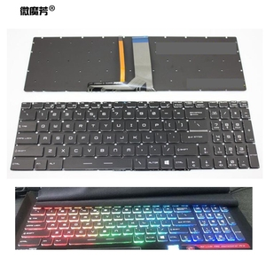 Novo Inglês Cristal RGB backlit Teclado colorido para MSI GT62 GT72 GE62 GE72 GS60 GS70 GL62 GL72 GP62 GT72S GP72 GL63 GL73 EUA