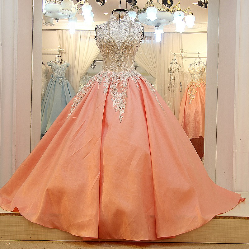 New Vintage 2018 Satin Lace Beading Crystal High Quality Evening Party Prom Gown Vestido De Festa Mother Of The Bride Dresses