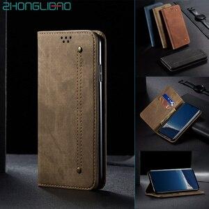 Джинсовый кожаный флип-чехол для huawei P30 mate 30 Pro Lite P Smart Z Y9 Prime 2019 Hono 10i 20 8x роскошный Магнитный чехол-книжка