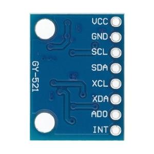 Image 3 - 20 pièces GY 521 MPU 6050 Module MPU6050 capteurs gyroscopiques analogiques 3 axes + Module accéléromètre 3 axes C74