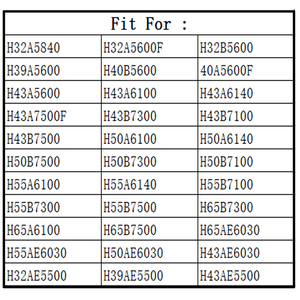 Image 2 - Original EN2BB27HB Fit For Hisense TV Remote Control H32A5600 H32A5840 H43A6100 H43A6140 H43B7100 H50B7300 H55B7500 EN2BB27H