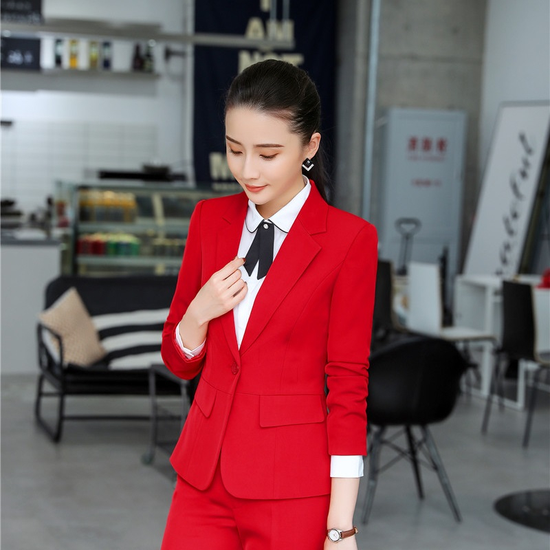 Long Sleeve Formal Uniform Styles Women Business Blazers And Jackets Coat For Ladies Office Work Wear Tops Outwear Blaser