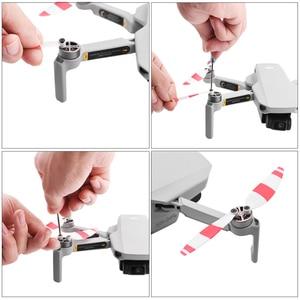 Image 5 - 4 paire hélice de remplacement colorée pour DJI Mavic Mini Drone 4726 accessoires lame aile ventilateurs accessoires pièces de rechange Kits