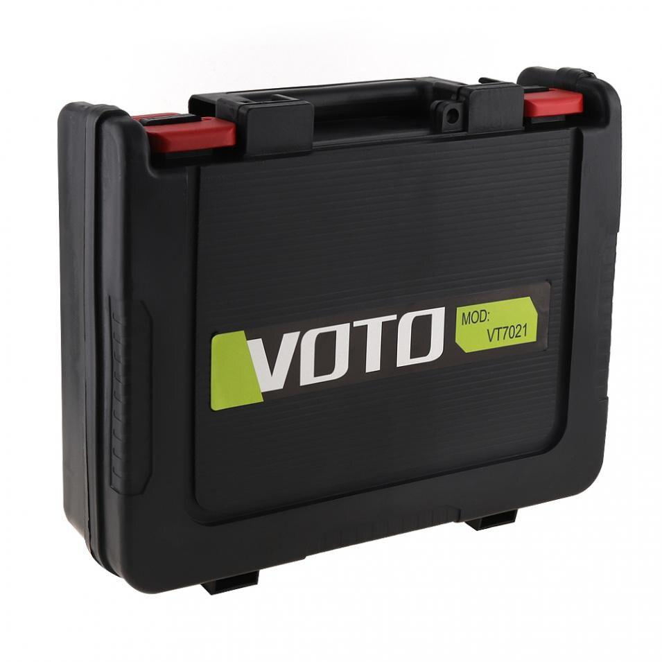 VOTO 12V 16.8V 21V Universal Tool Box Storage Case With 320mm Length For Lithium Drill Electric Screwdriver(VT7003)