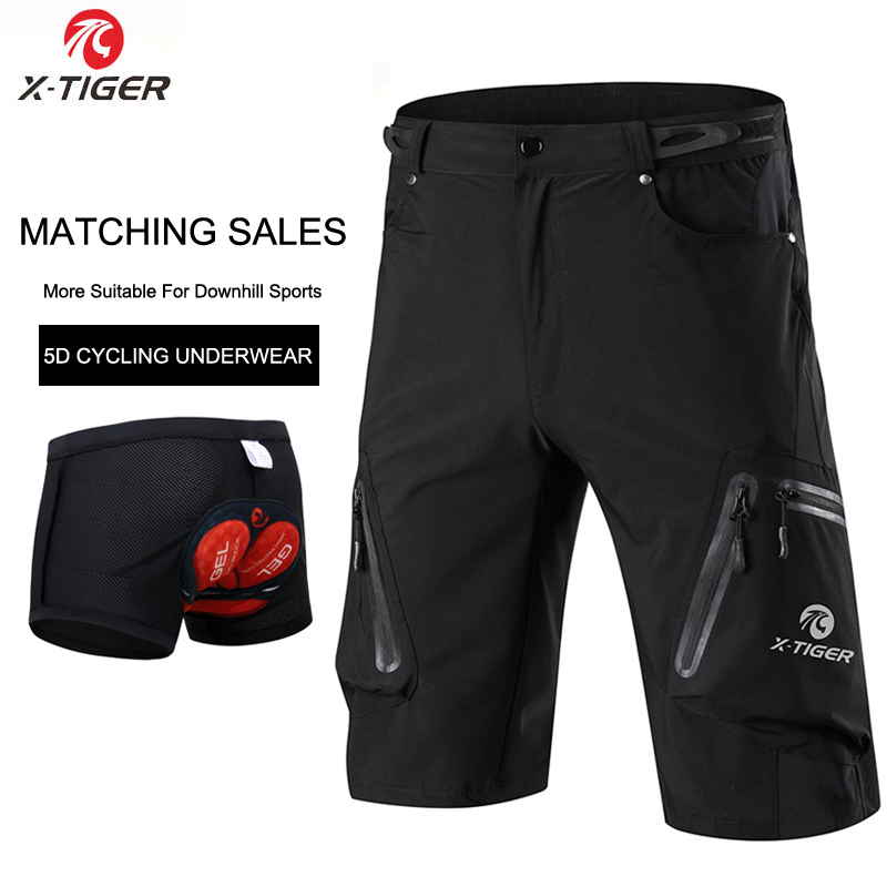 X-Tiger Men's Cycling Shorts…