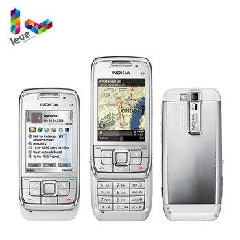 Used Unlocked Nokia E66 Slider Phone Original E66 GSM WIFI Bluetooth 3.15MP Camera 2G 3G Cell Phones Free Shipping