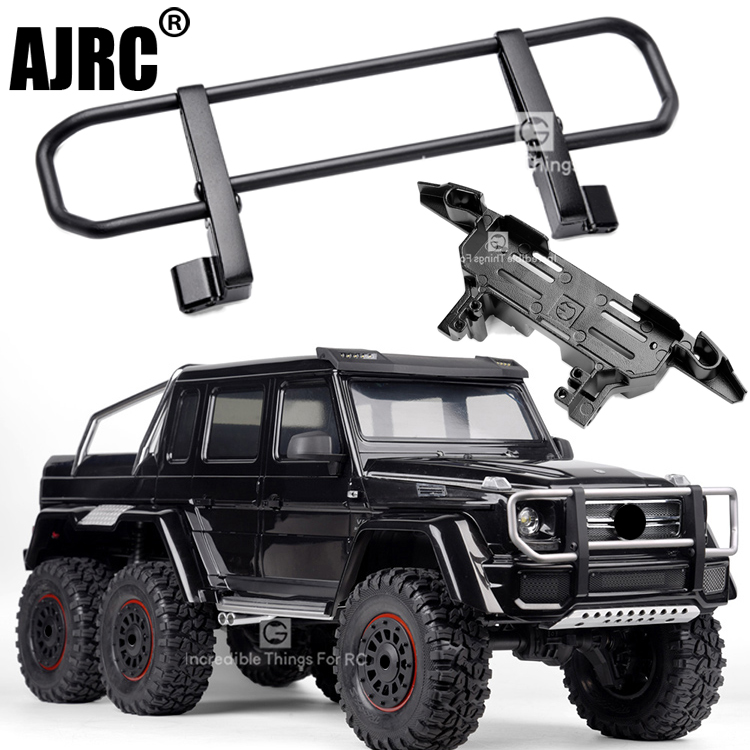 TRAXXAS TRX-4 TRX4 4X4 G500 TRX-6 6X6 G63 Metal Front Bumper Wilderness Bumper Mold version Servo Forward