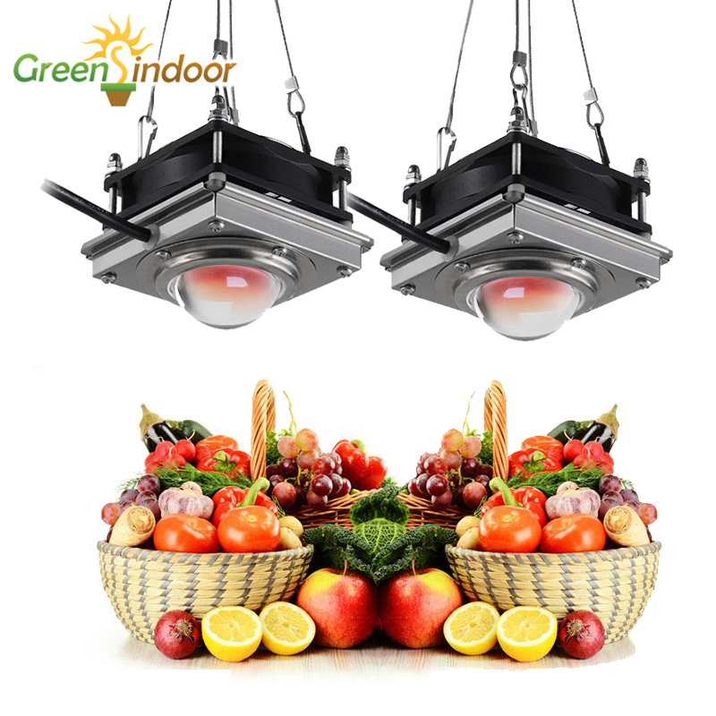 2pcs COB LED Grow Light 150W Phyto Lamp For Plants Full Spectrum Led Growth Lamp Grow Tent Box Lamps For Indoor Plants Flowers