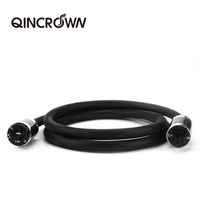 Qincrown furukawa 매니아 전원 코드 cd 증폭기 오디오 전원 코드 hifi 전원 코드 미국 표준