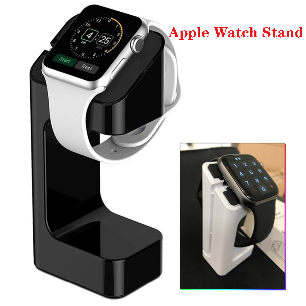 Stand For Apple Watch Band 44 Mm 40mm IWatch Band 42mm 38mm Plastic Charger Station Stand Holder Bracket For Apple Watch 4 3 2 1