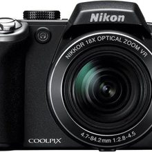 USED Nikon Coolpix P80 10.1MP Digital Camera with 18x Wide Angle Optical Vibration Reduction Zoom (Black)