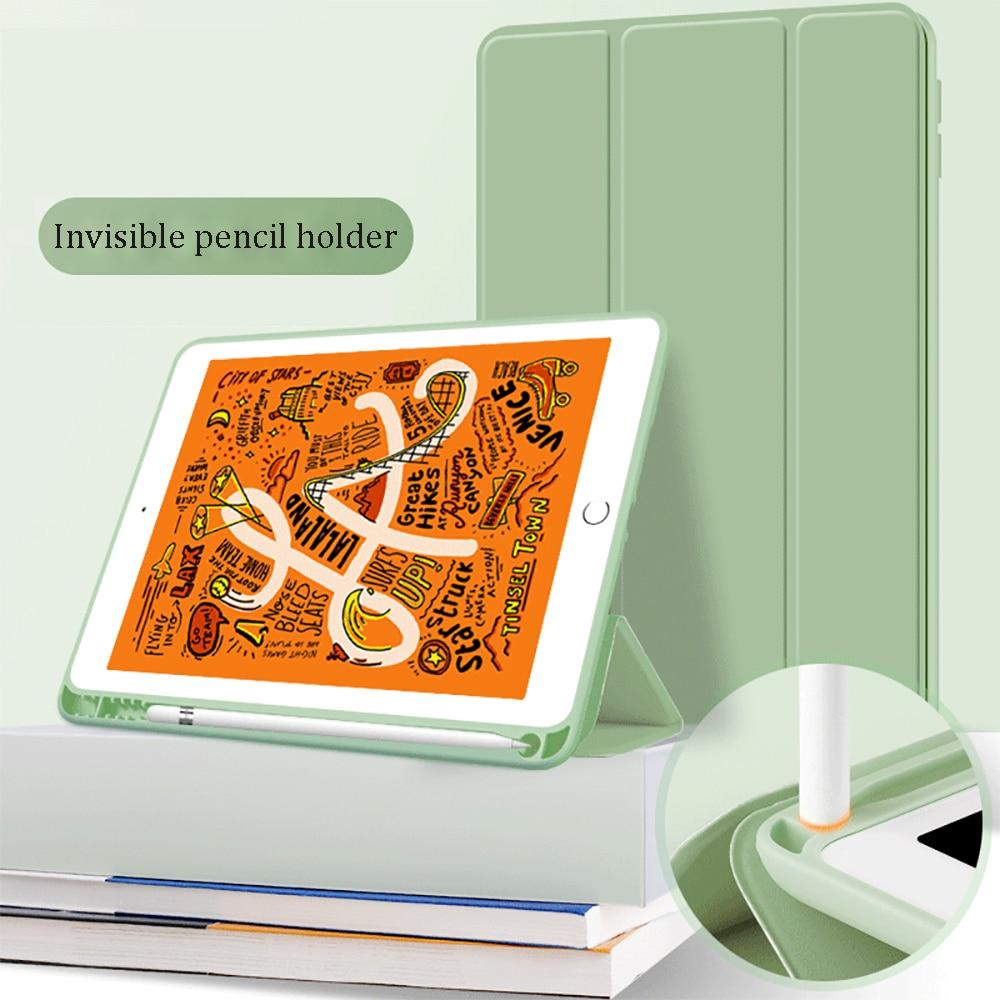 Чехол с держателем для карандашей для iPad AIR 3 10,5 2019 A2153 A2123 A2152 A2154, умный чехол из искусственной кожи с функцией автоматического пробуждения AIR 3, защитный чехол|cover for apple ipad|smart covercase for ipad | АлиЭкспресс