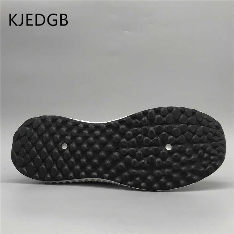 KJEDGB 2019 Fast Fashion Heren Sneakers Mesh Kokosnoot Herenschoenen Ademende Platte Heren Outdoor Casual Lace-Up Schoenen heren Designer