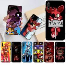 Cartoon Fox Fnaf Plush Foxy Phone Case For Huawei Nova 6se 7 7pro 7se honor 7A 8A 7C